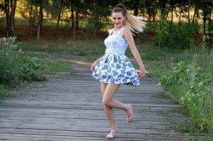 tania zwiewna sukieneczka na lato