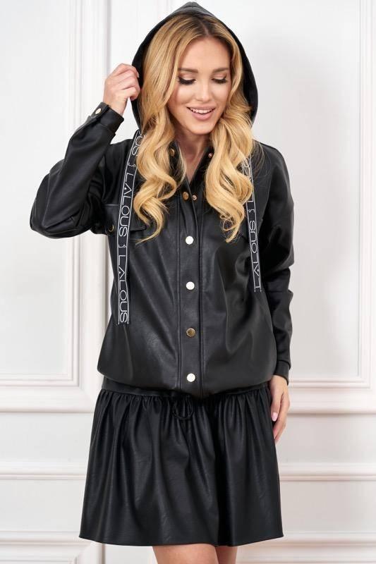 kurtka damska przejsciowa czarna