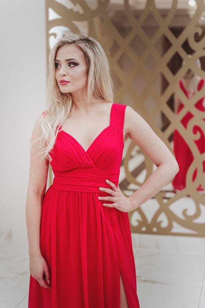 suknia wieczorowa długa